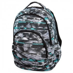 Plecak ze wzorem Coolpack BASIC PLUS PALM TREES MINT B03004