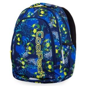cb008d08b7024 Plecak młodzieżowy Coolpack PRIME FOOTBALL BLUE B25037