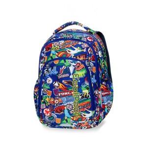 c57c987165191 Plecak młodzieżowy Coolpack STRIKE S FOOTBALL CARTOON B17036