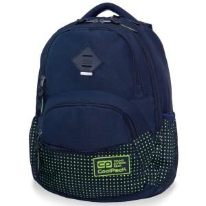 f0c4774e8375a Plecak młodzieżowy Coolpack DART II DOTS YELLOW NAVY B30060