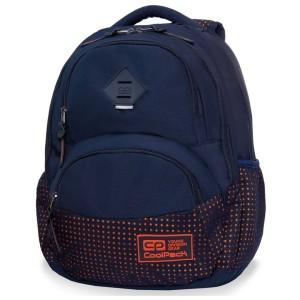 889760daebcd7 Plecak młodzieżowy Coolpack DART II DOTS ORANGE B30063