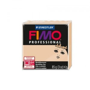 FIMO professional Doll art. 85g do lalek cielisty ciemny masa termoutwardzalna Staedtler