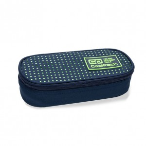 Piórnik Coolpack CAMPUS DOTS YELLOW NAVY B62060