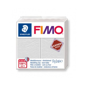Kostka FIMO leather effect 57g kremowy masa termoutwardzalna Staedtler SD-8010-029