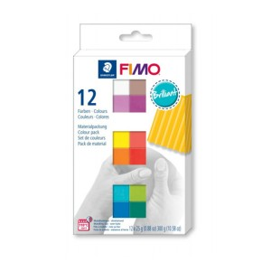 Zestaw FIMO soft S 8023 C12-2 Brilliant Colours Staedtler
