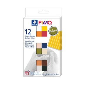 Zestaw FIMO soft S 8023 C12-4 Natural Colours Staedtler