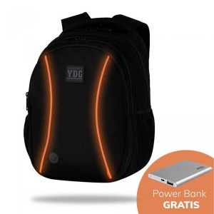 PLECAK LED ORANGE powerbank 4000 mAh Gratis JOY L COOLPACK