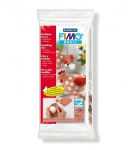 Masa fimo air basic 500g terracota Staedtler 8100-76