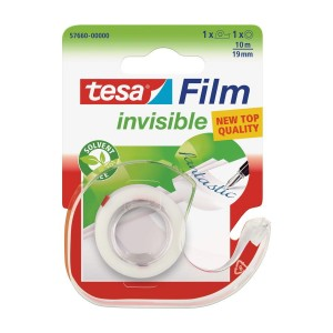 Taśma biurowa film invisible 10m x19mm i dyspenser TESA 57660-00000-01TS