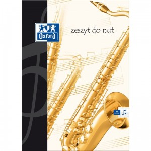 Zeszyt do nut A4 oxford 32 kartki 100302252