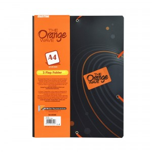 Teczki ofertowe orange 3 flap folder Mintra 93000