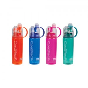 Bidon 600 ml cool pack – mist - display – mix 4 colours Patio 80262CP