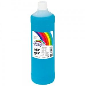KLEJ W PŁYNIE FIORELLO BLUE GLUE 1000 ml DO GLUTÓW SLIME