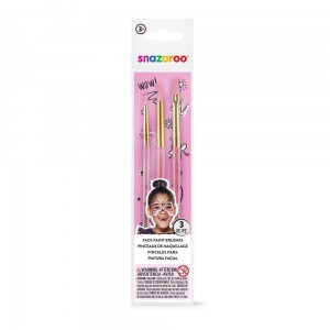 Pędzle fun brushes 3 set girls Snazaroo 1192503