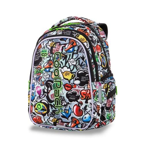 f25db22b1597a Plecak szkolny Coolpack Joy M LED GRAFFITI A20201