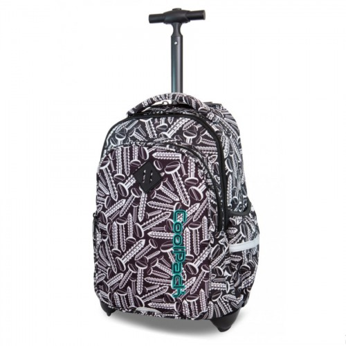 997f8a056cd23 Plecak młodzieżowy na kółkach Coolpack JUNIOR SCREWS B28033