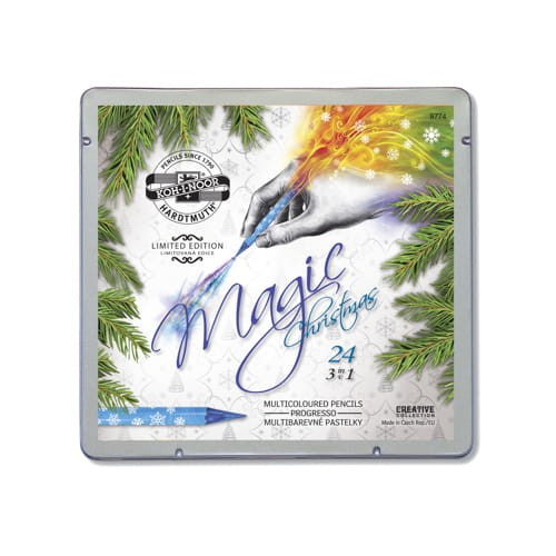 Kredki progresso magic 24 kolory Koh-i-noor 8774