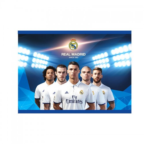 Blok rys. ASTRA A4 20 ark Real Madrid 3