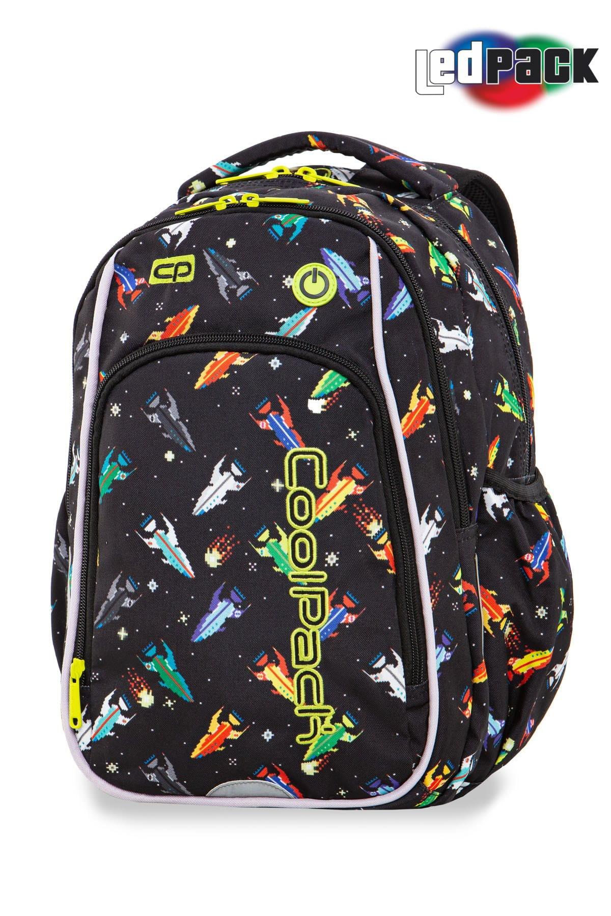 fbf0e933e9fb0 Plecak szkolny Coolpack Strike S LED Rockets 94764CP A18207