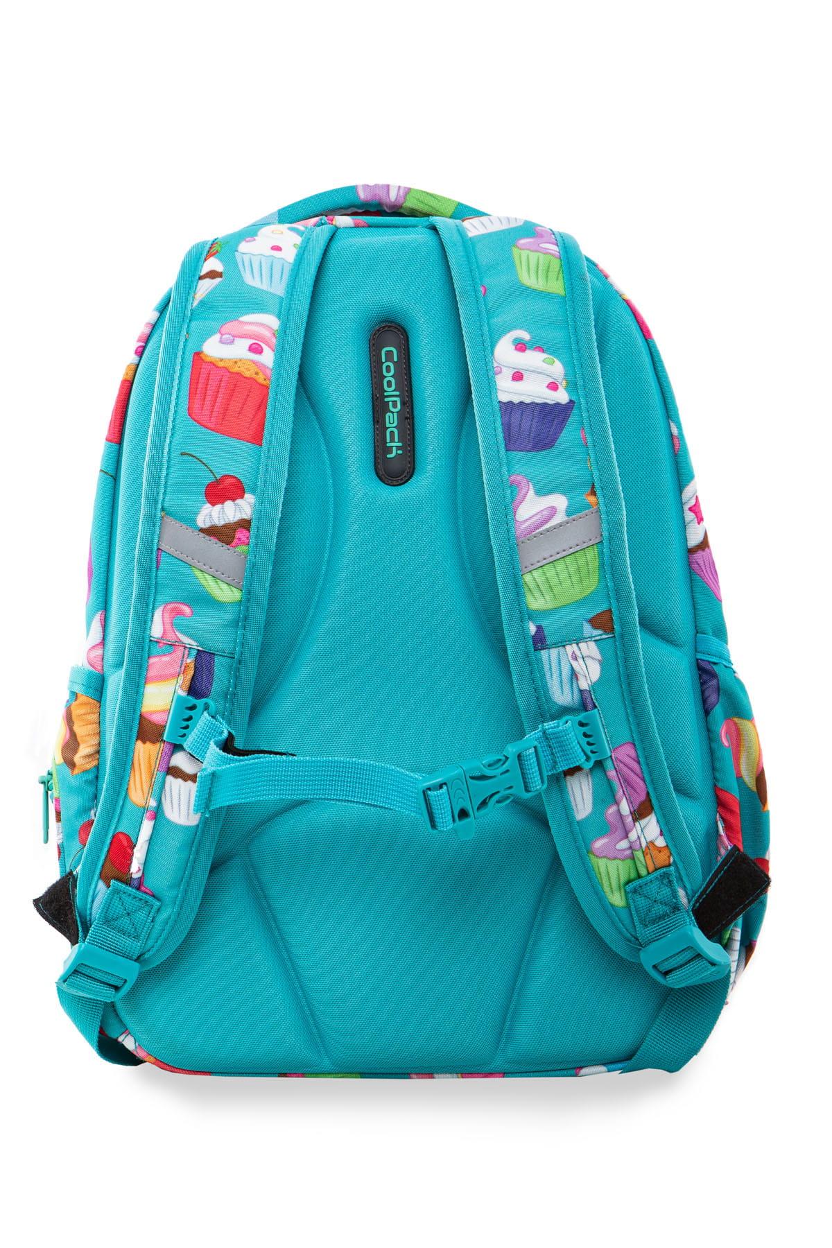 8015e12afe55b Plecak szkolny Coolpack Joy M LED CUPCAKES A20203