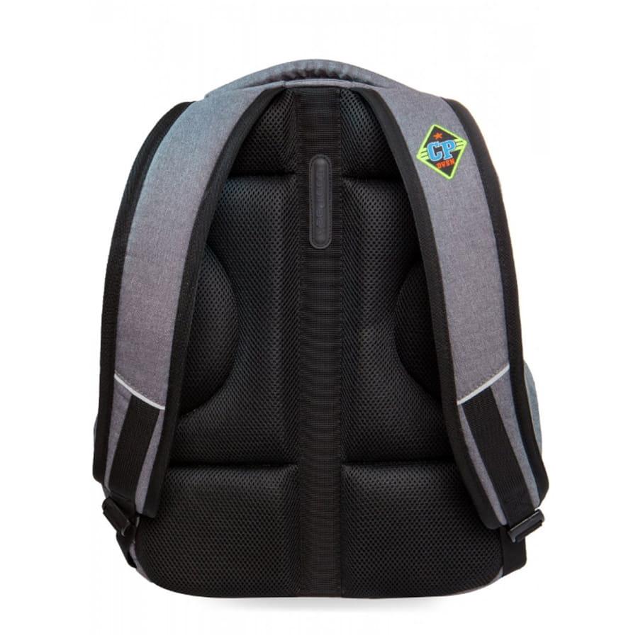 8406c3c1da1c2 Plecak młodzieżowy Coolpack BENTLEY A401 BADGES GREY B24052