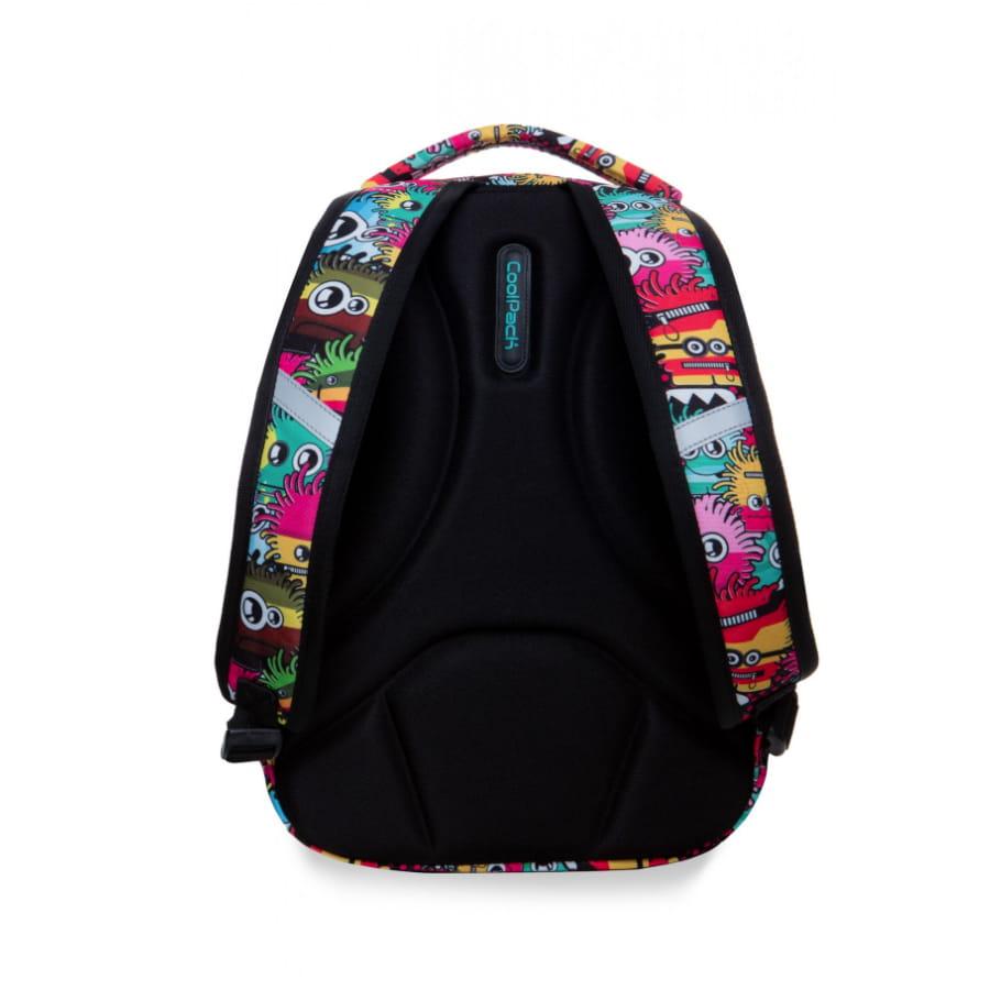 62e4cb2bd8063 Plecak młodzieżowy Coolpack STRIKE S WIGGLY EYES PINK B17047
